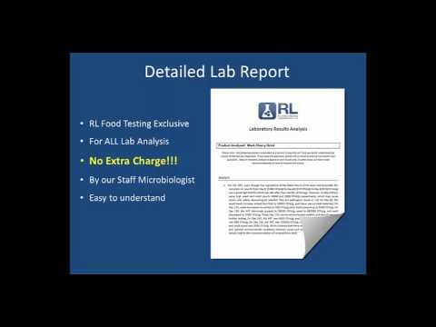 food test lab report