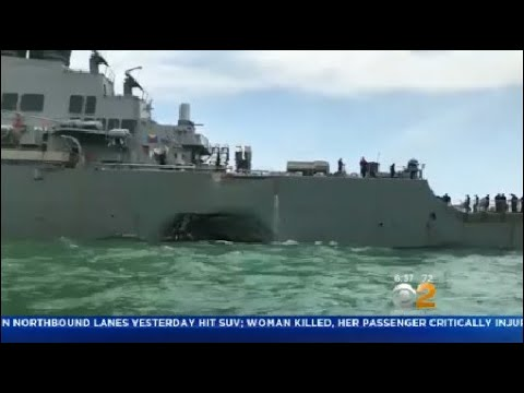 10 Sailors Remain Missing After USS John McCain Collides With Oil Tanker