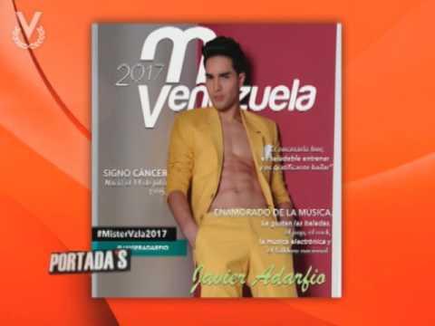 Candidatos al Mr. Venezuela 2017 en Portada's