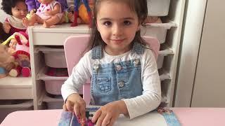 ALYA PUZZLE  IS ANNA ELSA AND NILOYA FUN CHILDREN VIDEO