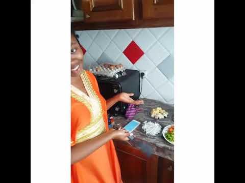 Gabon AzévaGabon241 _ retour aux sources _ la cuisine Gabon .