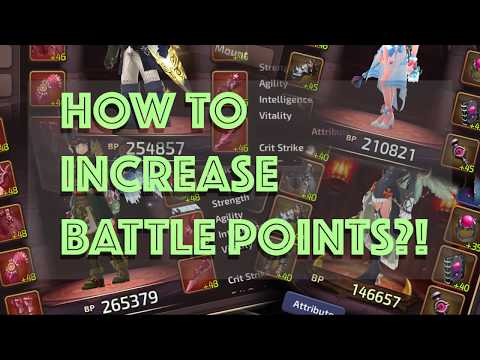 DRAGON NEST M TIPS: Increase Battle Points In Dragon Nest Mobile! (Tagalog)