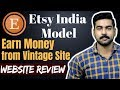 Earn Money from ETSY Online   Sell product directly in International Market.
