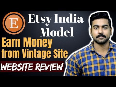 Earn Money from ETSY Online | Sell product directly in International Market.