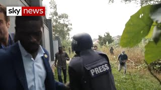 Uganda vote:  Did troops aim to intimidate opponent?