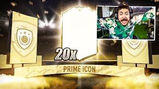20 GUARANTEED PRIME ICON PACKS!! FIFA 20
