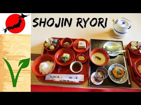 Eating Shojin Ryori for the First Time (Traditional Japanese Plant-based Buddhist Cuisine)