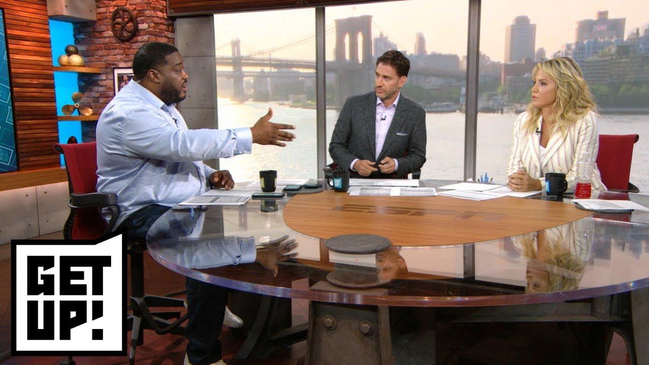 Is Lamar Jackson's presence pushing Joe Flacco to be better?   Get Up!   ESPN