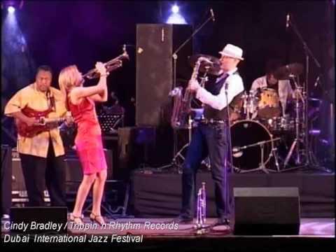 Cindy Bradley - Dubai International Jazz Festival