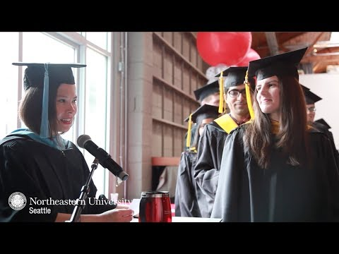 2017 Graduation - Northeastern University - Seattle Campus