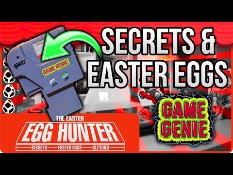 Game Boy Game Genie Secret Hidden Messages - The Easter Egg Hunter