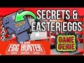 Game Boy Game Genie Secret Hidden Messages - The Easter Egg Hunter