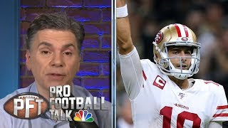 Was Jimmy Garoppolo's injury a blessing in disguise for 49ers? | Pro Football Talk | NBC Sports