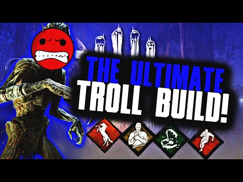 The Ultimate Toxic Survivor TROLL Build! You will Never Get Hooked! (Dead By Daylight Ps4 Survivor)