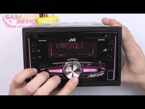 Автомагнитола JVC KW-R710EY Подключение IPod/iPhone