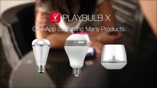playbulb color bluetooth color led speaker light bulb video for playbulb official website