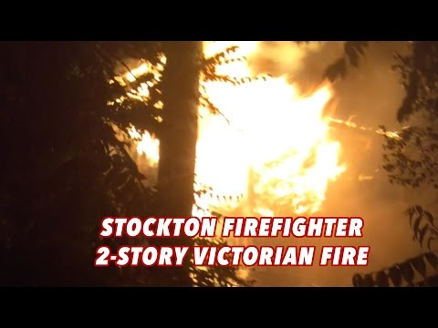 Stockton Firefighters • 2-Story Victorian • Board Up