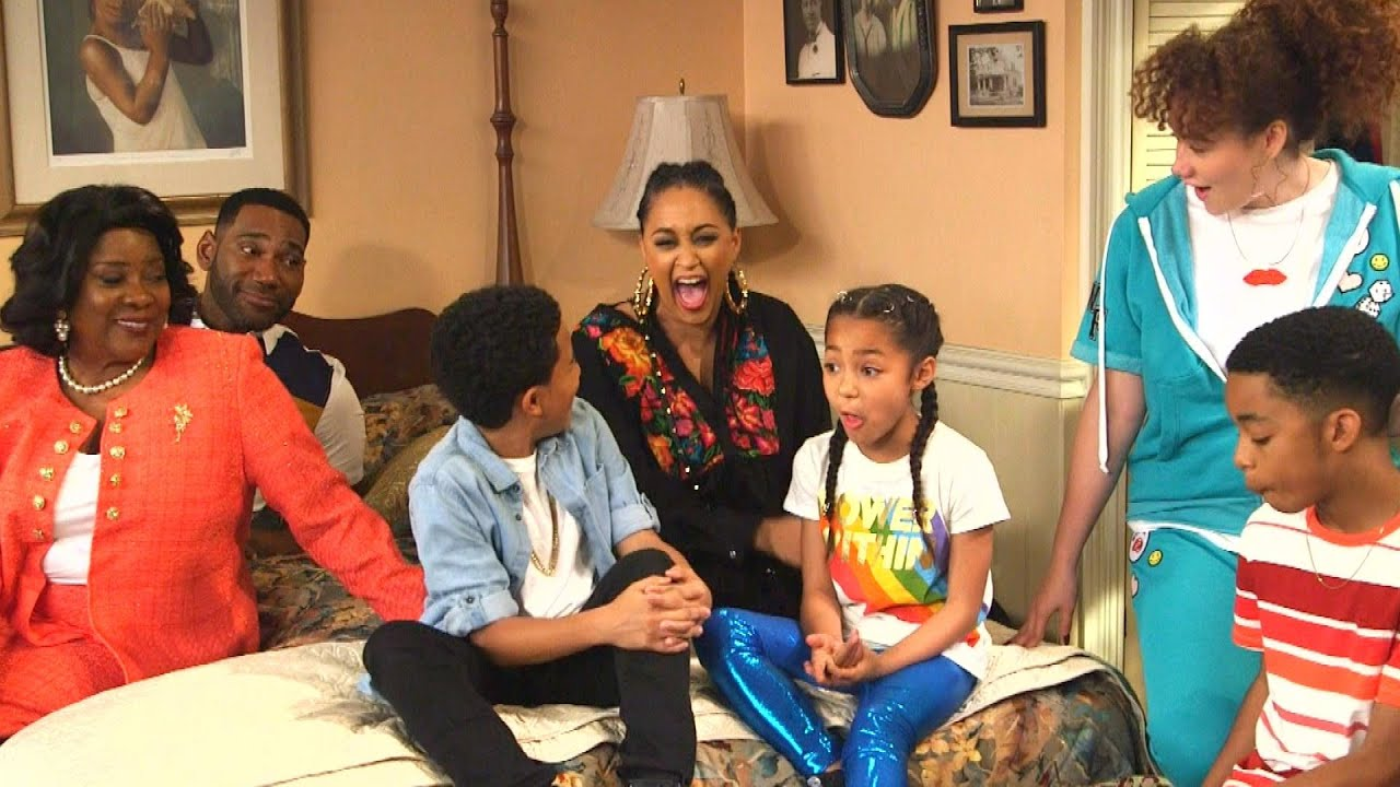 Download 'Family Reunion' Set Tour With Tia Mowry -- and a Few SURPRISE Guests! (Exclusive)