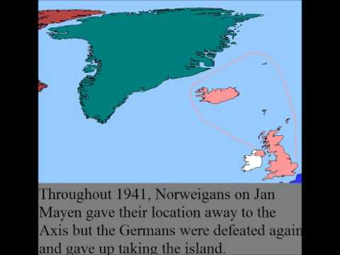 Greenland and Iceland during World War 2