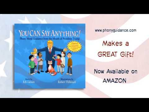 You Can Say Anything! - Book Offers Trump Quotations for Children