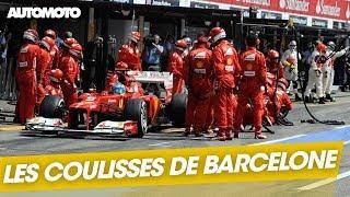 F1 : Les coulisses des derniers essais privés