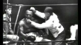 Jersey Joe Walcott vs Rocky Marciano I - Sept. 23, 1952 - Rounds 10 - 13 & Interview