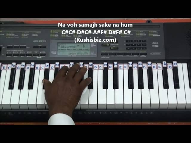 Ajeeb Daastaan Hai Yeh Piano Notes Video Tutorials Rushis Biz