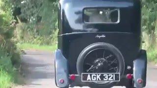 My 1933 Austin Seven Saloon Angelika on a Birthday drive!
