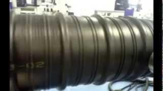 เครื่องพิมพ์อิ้งเจ็ตท์พริ้นเตอร์บนท่อสีดำ ติดตั้่งกับเครื่องเครื่องเอ็กทรูเดอร์ Thumbnail