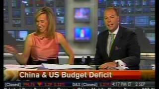 In-Depth Look - China & U.S. Budget Deficit - Bloomberg