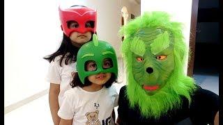 الوحش الأخضر يخوف أميرة وميادة