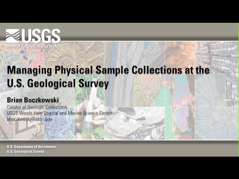 iSamples Webinar 2: Managing Physical Samples at the USGS; Information Seeking and Physical Samples