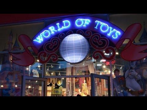 World of Toys Store at Disney Village Disneyland Paris