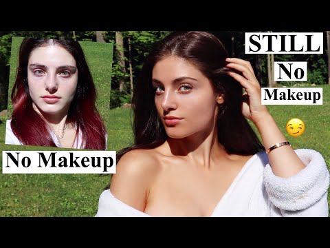 HOW TO LOOK GOOD WITHOUT MAKEUP! 24 hour transformation *pasty to tasty*