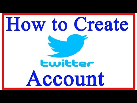 How to Create Twitter Account 2015