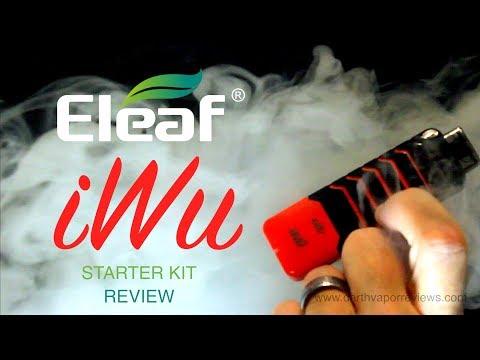 Eleaf | IWu Pod Vape System Starter Kit Review