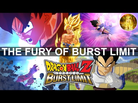 The Fury of Burst Limit (All Character Combos Exhibition) By SJ2