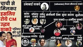 Why Shiv Sena chief Uddhav Thackeray wept: अपनी चाची से मिलकर इसलिए रोये CM उद्धव ठाकरे
