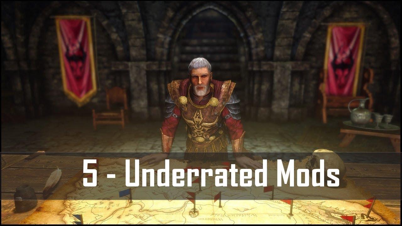 Skyrim: 5 Criminally Underrated Mods for The Elder Scrolls 5 (Skyrim SE  PC/Xbox One mods)