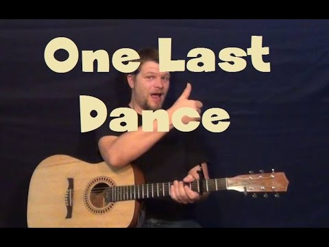 One Last Dance (R5) Easy Strum Fingerstyle How to Play Tutorial