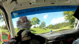Niki Glisic / Josef Kral (BMW M3 E30) 1. Perger Mühlstein-Rallye 2016