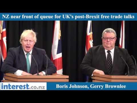 Boris Johnson NZ Q&A