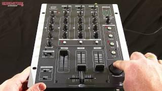 Gemini PS-626EFX 3-Kanal DJ Mixer