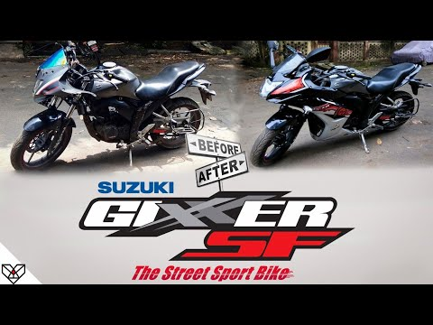 Suzuki Gixxer SF Accident & Parts Replacement (Hindi) with Price