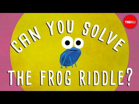 Video image: Can you solve the frog riddle? - Derek Abbott