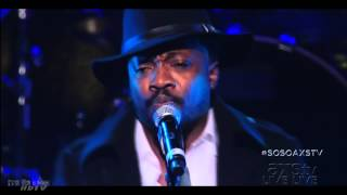 Anthony Hamilton at the So So Def 20th Anniversary Concert