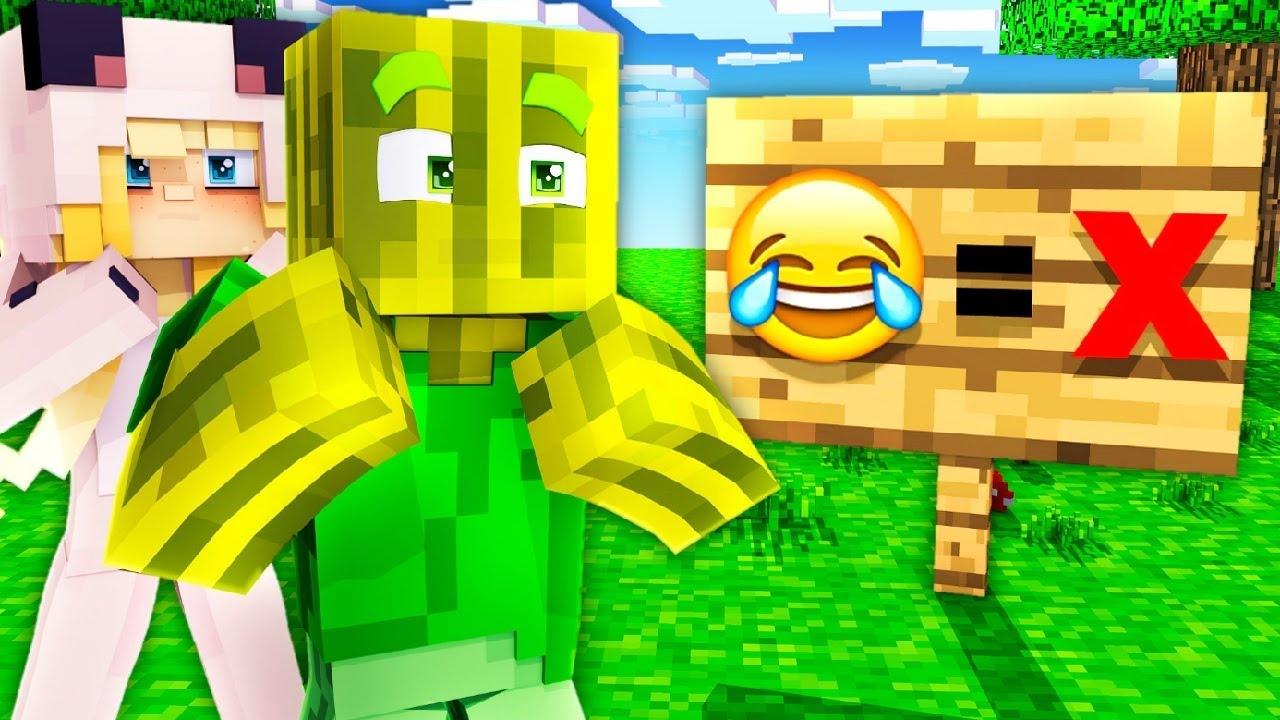 MINECRAFT, ABER LACHEN ist VERBOTEN?! - Minecraft WOLF 2