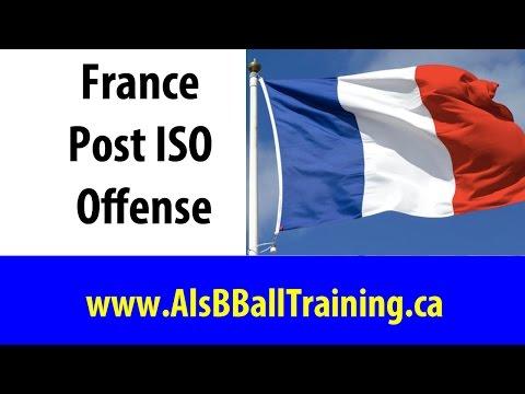 France Post ISO Basketball Play