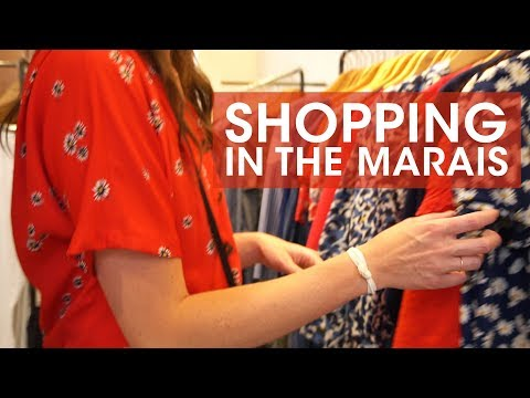 Brunch And Shopping In Paris - On The Hunt For Gifts And Dresses In The Marais Paris