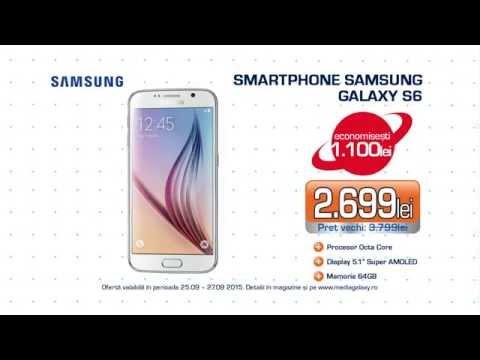 Reclamă Media Galaxy Samsung S6 septembrie 2015